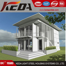 Well Designed Two Storeys Living Home Container House Prefabricated