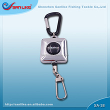 Special design Retractable badge reel for fishing SA-38 extension length 550mm
