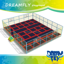 Jumping bed biggest trampoline rectangle trampoline