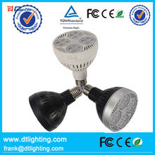 New design and high lumen dimmable E27 LED PAR30 light for fashion stand