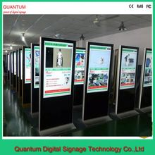 42 55 65 inch Stand touchscreen waterproof ip65 outdoor lcd digital signage