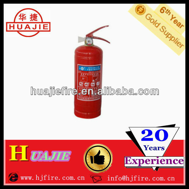 CO2 /dry powder fire extinguisher dry hydrant CE-EN3