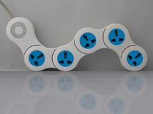 power strip/bending pivoting power strip/Rotating Extension Socket