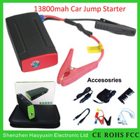Motorcycle tool kit 13800mah high quality high security 12v survival emergency multi-function jump starter