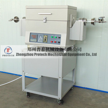 High temperature vacuum PECVD tube furnace for lab heating