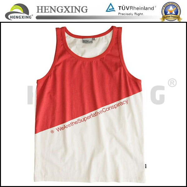 Custom summer mens dri fit tank top