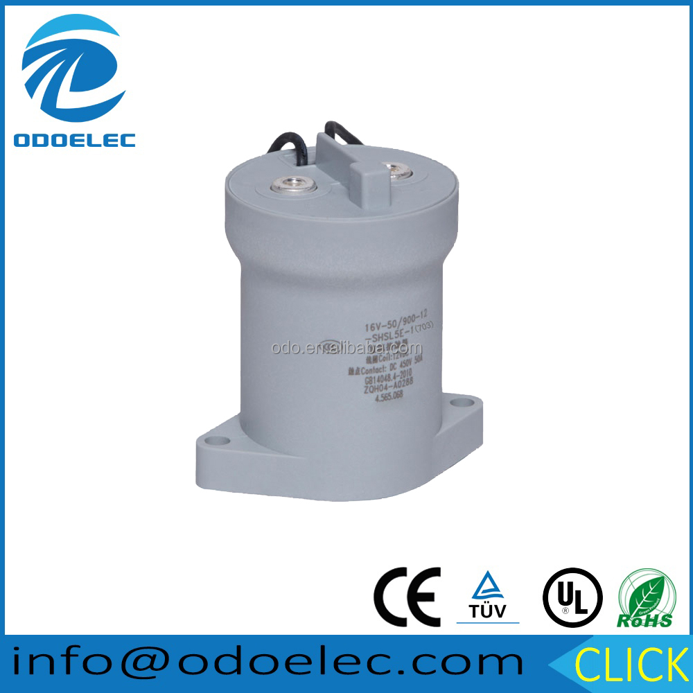 High Voltage DC Relay/Contactor ODC50A for Fuel Cell Car
