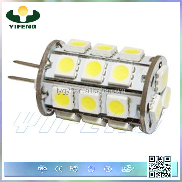 hot sale G4 lamp holder 5050 smd led specifications