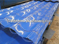 colorful light weight Corrugated zinc metal roof tiles