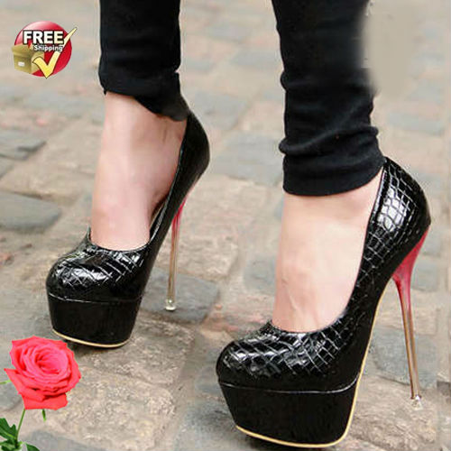 S4187 FREE SHIPPING wholesale shoes 2013 crocodile pattern fashion high <strong>heels</strong> sexy nightclub women pump shoes
