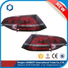 High Quality New Red Auto Rear Led Tail Lamp for VW Golf 7