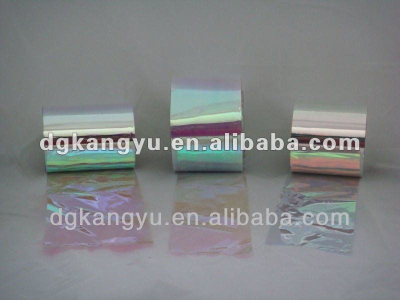 Transparent rigid clear pet film for packaging