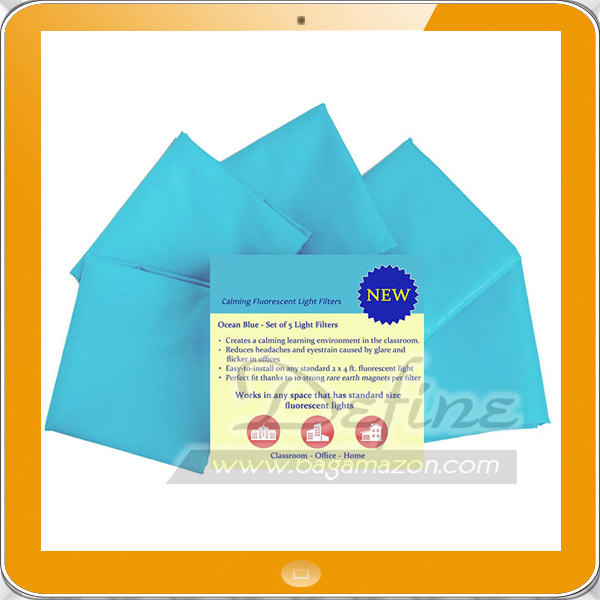 Fluorescent Cover Blue Light Filter for Office School Classroom