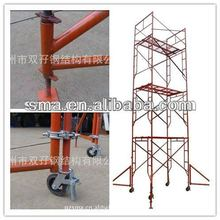steel ladder scaffolding of framework type