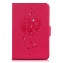 2013 New product leather case for ipad mini 360 Rotate