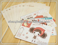 Printing Cartoon Letter Paper