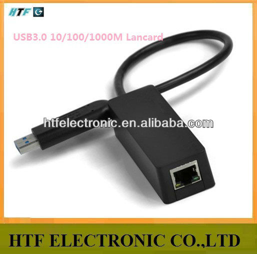 OEM 10/100/1000M RJ45 port plastic case Full duplex external Black Gigabit USB generic Network sim card wifi adapter