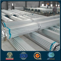 ASTM A50 schedule 20 galvanized carbon steel pipe price per kg