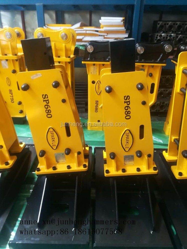 SPARKLE new hydraulic breaker price powerful hydraulic rock breaker for skid steer loader