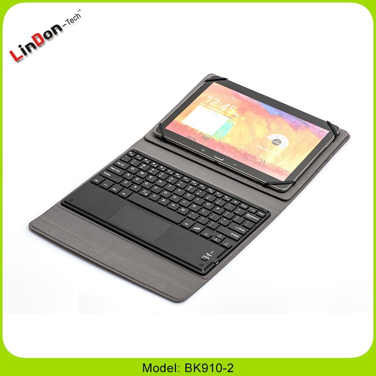 "PU leather case bluetooth keyboard for samsung galaxy note 10.1"", tab 9"""