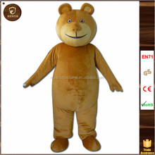 made in china high technology Bear big head cosplay mascot costume