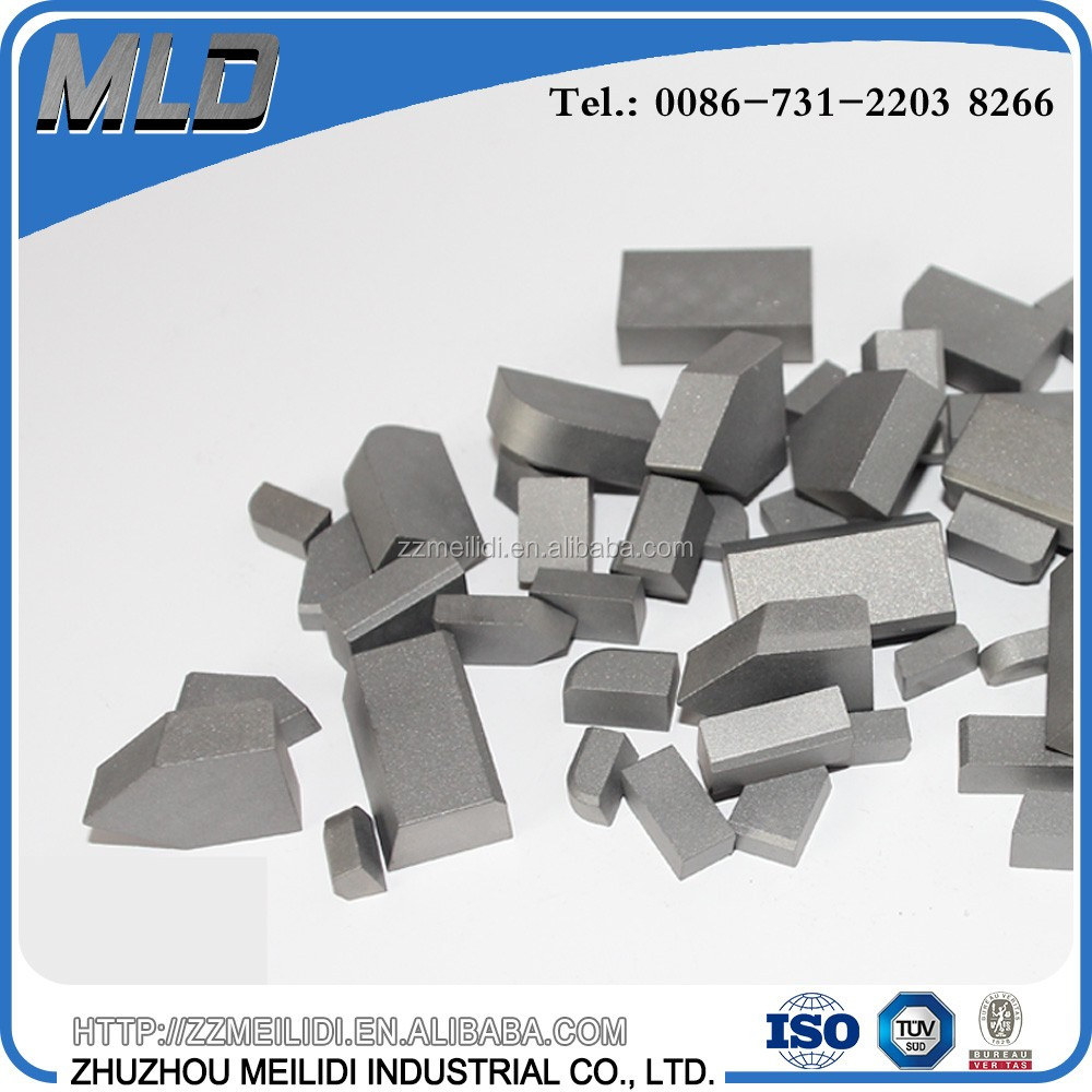 Various types of tungsten carbide cutter K20 K30 for brazed tool bits