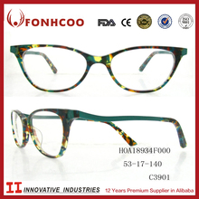 FONHCOO Free Samples Cheap Women Acetate Optical Eyeglass Frames For Small Faces