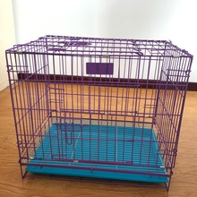 Chinese wholesale hot sale metal wire mesh dog cage with chassis