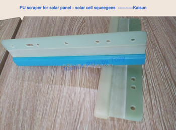 solar cell glass fiber PU squeegees