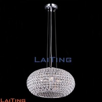 Contemporary hotel globe pendant lamps dining luxury crystal chandeliers 71102