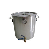 Kingsunshine 8L 2Gal Stainless Steel Fermenter