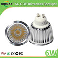 BRIMAX Wholesale gu10 dimmable spot light indoor 550LM 6W cob led spotlight price