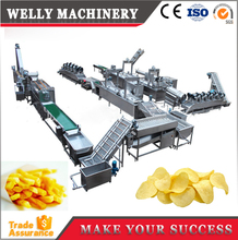 potatoes crisps production line/ frozen french fries processing plant