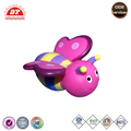 Soft rubber bath plastic toy bee