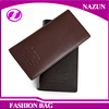 China multi-card holder online fast selling items embossed logo long style leather wallet for men
