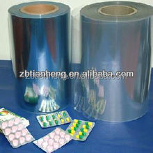 pvc film for tablet packaging materials