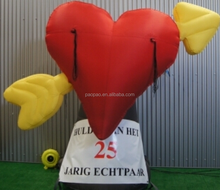 Valentine's Day Decoration Giant Balloon, Inflatable Heart Love Ballon