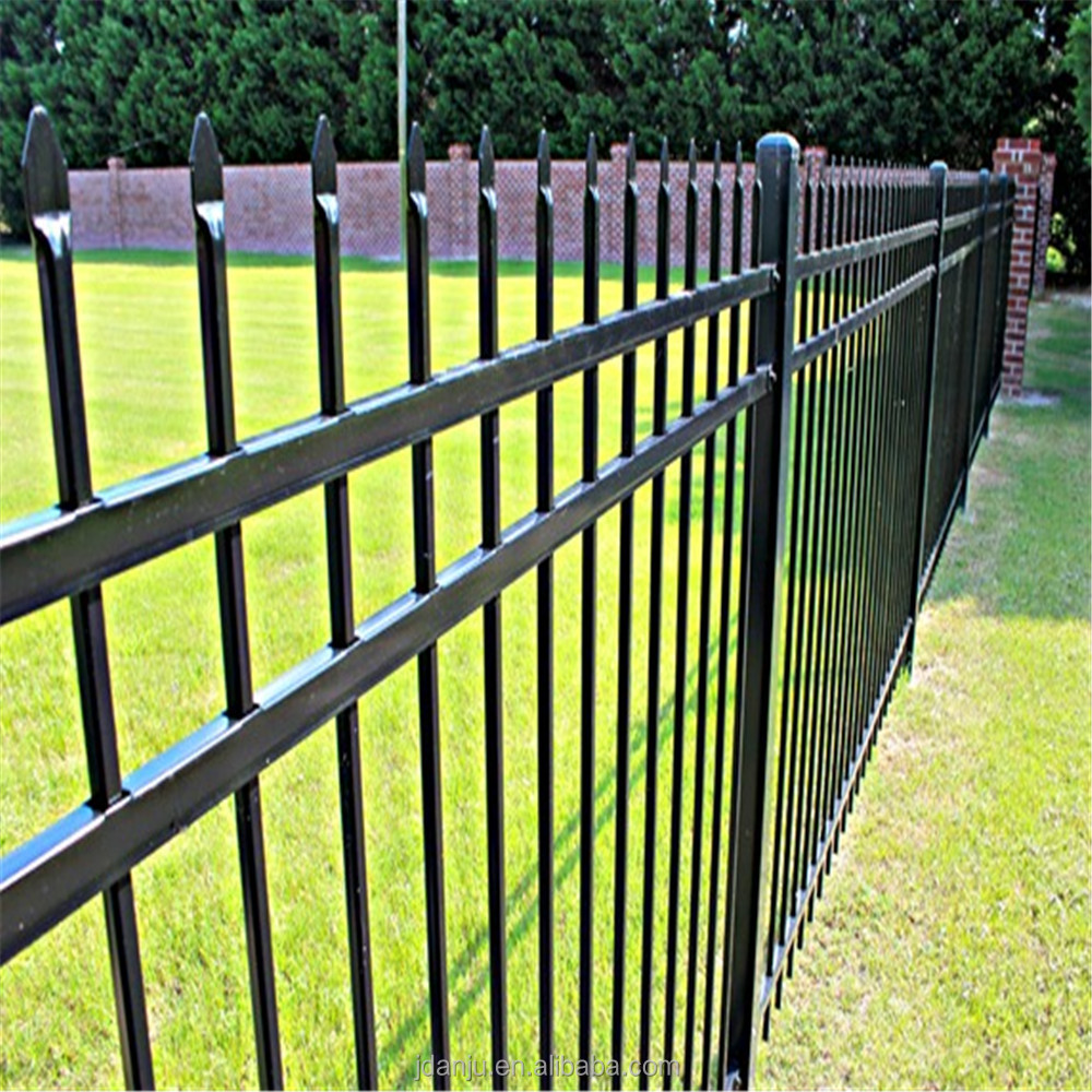 Hot sale residential simple steel fence grill design