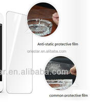 High transparent glossy antistatic fashionable screen protectors film material for all mobile