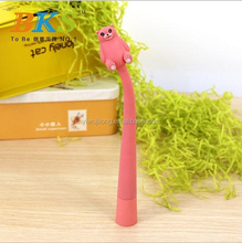 novel creative flexible ball point pen promotional gift fo kids