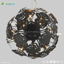 big black bedroom ball arabic style led ceiling pendant lights