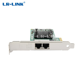 LR-LINK 9222PT Dual Port Gigabit Ethernet PCI-E x1 RJ45 Lan Card Teaming Support