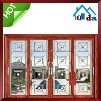 aluminum waterproof sliding glass door interior door designs 2016