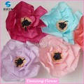 Wholesale Crumpled Poppy Giant Paper flowers (WFMG-01)