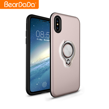 Attractive Appearance tpu pc ring case cover for iphone x,for iphone x case ring