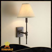 decorative cheap price blown iron wall sconce