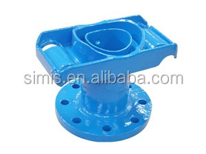 Alibaba china casting foundry iron water valve grey iron fire hydrant body