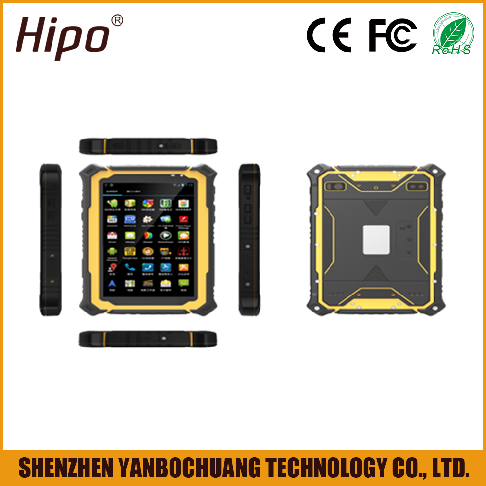 7 inch Rugged NFC 4G Android Tablet PC with Barcode scanner and RFID Reader
