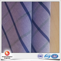 high quality yarn dyed plaid 100% cotton oxford cloth fabric with free sample