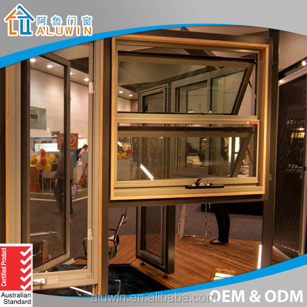 Australian Standard Wood Clad Aluminum Awning Windows